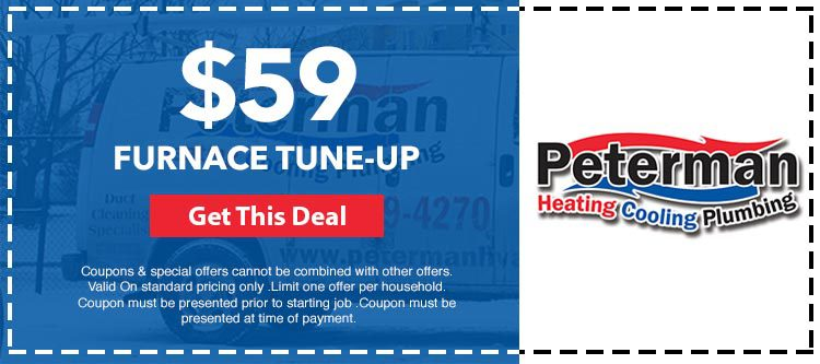 Tune Up Coupons >> Coupons Specials Peterman Heating Cooling Plumbing Inc